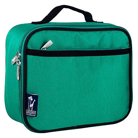 Wildkin Polyester Lunch Box, Emerald