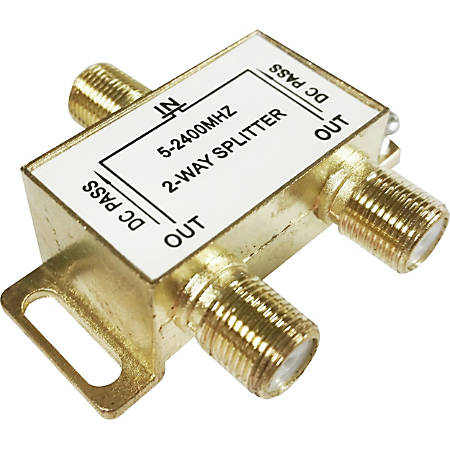 Professional Cable Signal Splitter - 2-way - 2.40 GHz to 2.40 GHz