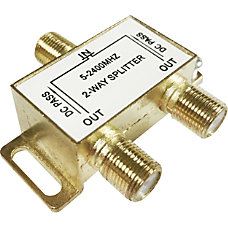 Professional Cable Signal Splitter 2 way