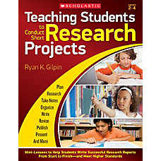 Scholastic Teaching Students To Conduct Short