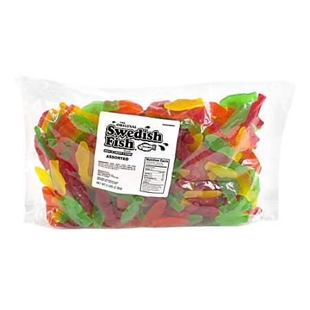 Swedish Fish Assorted Gummy Candies, 5-Lb Case