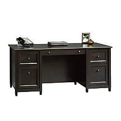 Sauder Edge Water Executive Desk Estate