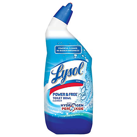 Lysol POWER FREE Toilet Bowl Cleaner