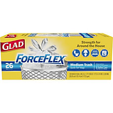 Glad ForceFlex Quick Tie Medium Trash