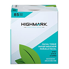 Highmark Professional 2 Ply Facial Tissues
