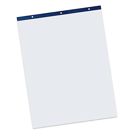 """Pacon Unruled Easel Pads - 50 Sheets - Plain - Stapled/Glued - Unruled - 27"""" x 34"""" - White Paper - Chipboard Cover - Perforated, Bond Paper - 50 / Pad"""