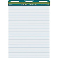 Pacon Ruled Easel Pads 50 Sheets