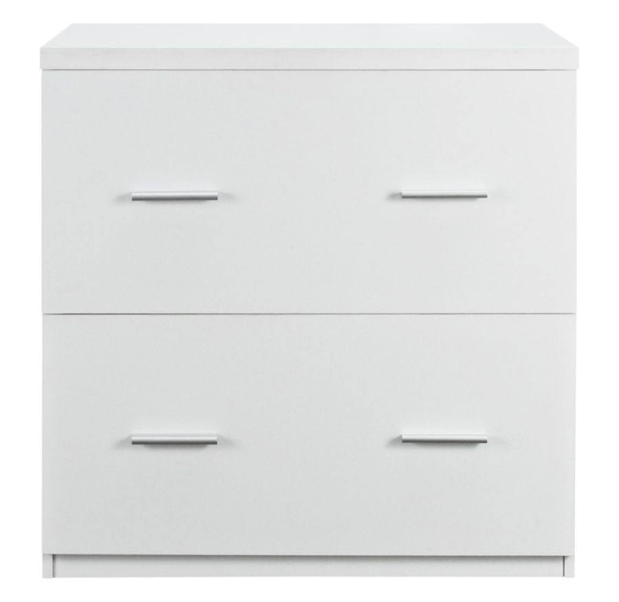 Awesome White Lateral File Cabinet