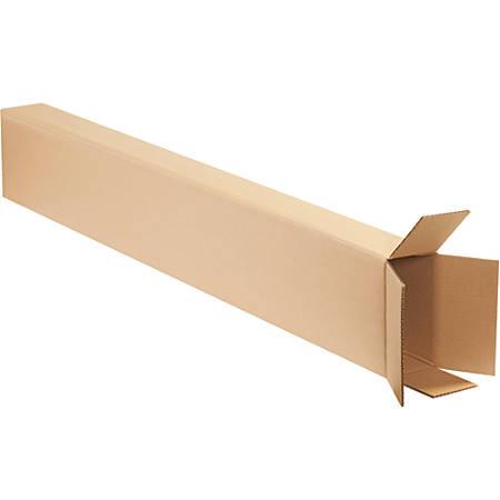 "Office Depot® Brand Side-Loading Boxes, 52""H x 4""W x 8""D, Kraft, Bundle Of 15"