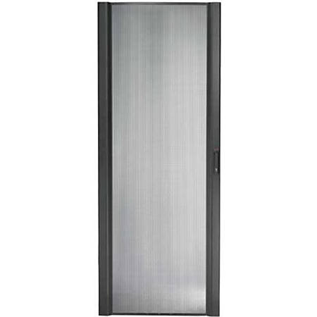 APC by Schneider Electric NetShelter SX 48U 600mm Wide Perforated Curved Door Black