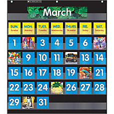 Scholastic Teacher Resources Pocket Chart Monthly