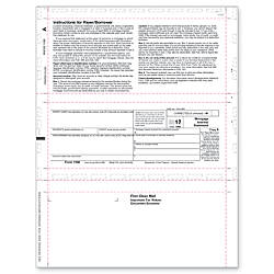 ComplyRight 1098 InkjetLaser Tax Forms For