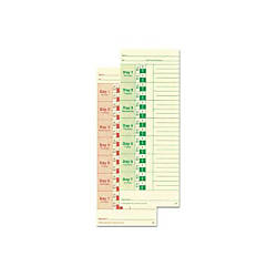 Lathem Time Cards Weekly 2 Sided