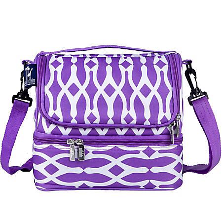 Wildkin Double Decker Lunch Bag, Wishbone