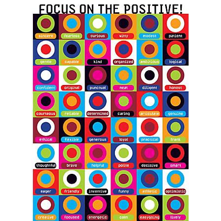"Scholastic Teacher's Friend POP! Chart, 13 3/8"" x 19"", Focus On"