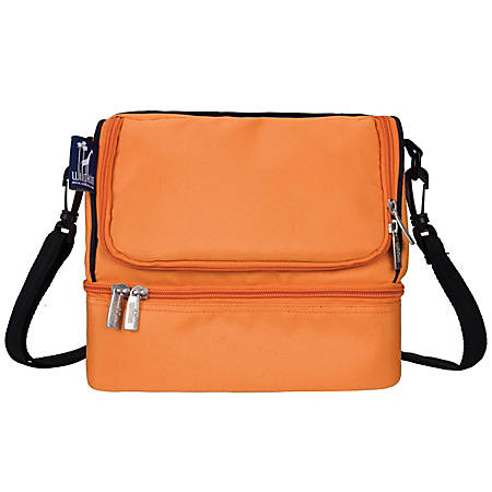 Wildkin Double Decker Lunch Bag, Bengal Orange