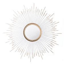 Zuo Modern Round Splan Mirror Gold
