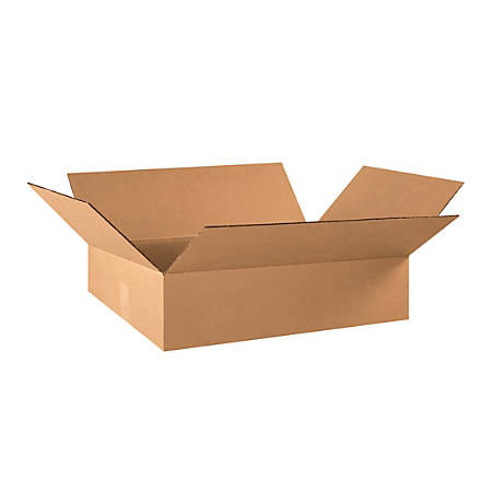 """Office Depot® Brand Corrugated Boxes, 6 3/8""""H x 15 5/8""""W x 21 3/8""""D, 15% Recycled, Kraft, Bundle Of 25"""