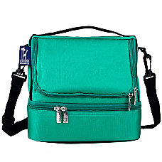 Wildkin Double Decker Lunch Bag Emerald