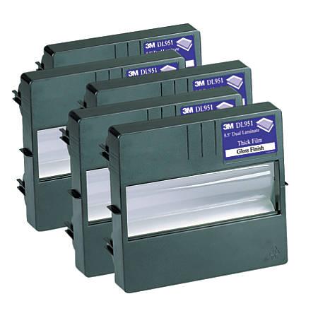 """3M™ Laminating System LS950 Refill Cartridge, Dual Lamination, 8.5""""W x 100'L"""