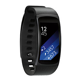 Samsung Gear Fit2 Smartwatch Large Black By Office Depot