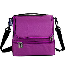 Wildkin Double Decker Lunch Bag Orchid