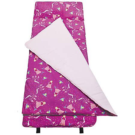 """Wildkin Nap Mat, Princess, 50""""H x 20""""W x 1 1/2""""D, Purple"""