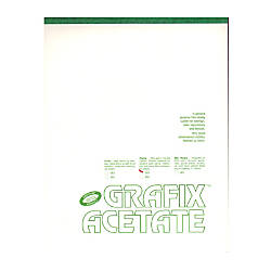Grafix Matte Acetate Film Pad 14