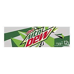 Diet Mountain Dew 12 Oz Pack
