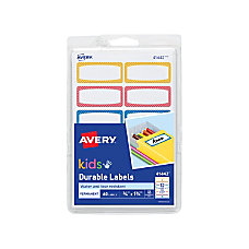 Avery Kids Durable Labels 41442 1