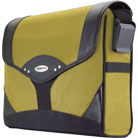 Mobile Edge Select Messenger Case - Top-loading - Adjustable Shoulder Strap - Ballistic Nylon - Yellow, Black