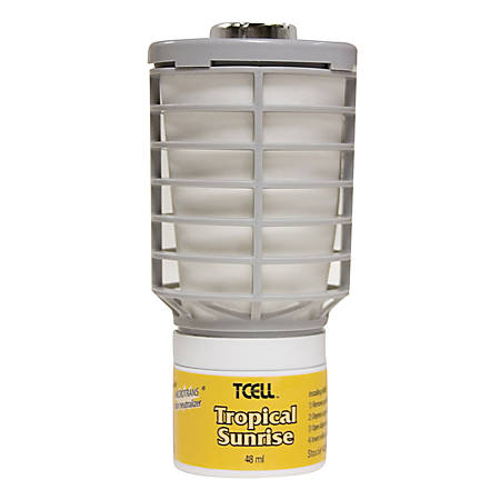 Rubbermaid TCell Air Freshener Refills, 32 Oz, Tropical Sunrise, Case Of 6