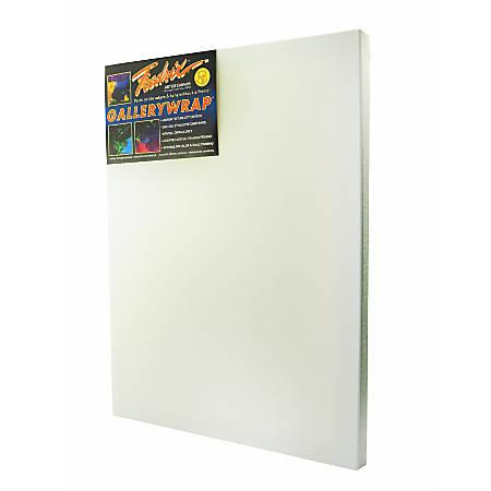 """Fredrix Gallerywrap Stretched Canvas, 14"""" x 18"""" x 1"""""""