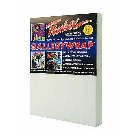 """Fredrix Gallerywrap Stretched Canvas, 9"""" x 12"""" x 1"""""""