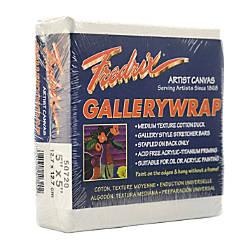 Fredrix Gallerywrap Stretched Canvases 5 x