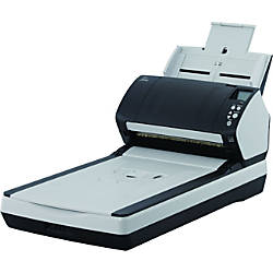 Fujitsu Fi 7280 SheetfedFlatbed Scanner 600