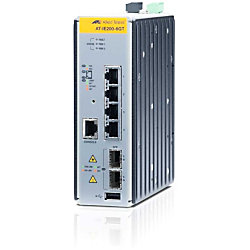 Allied Telesis AT-IE200-6GT Gigabit Industrial Ethernet Switch