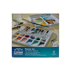 Winsor Newton Cotman Watercolor Palette Set