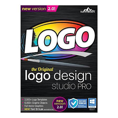 Summitsoft® Logo Design Studio Pro 2.0, Traditional Disc