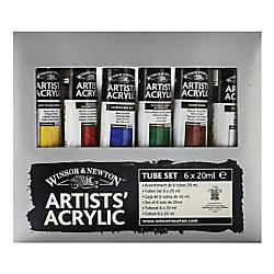 Winsor Newton Artists Acrylic Color Introductory