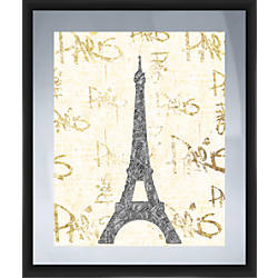 PTM Images Framed Art Paris Gold