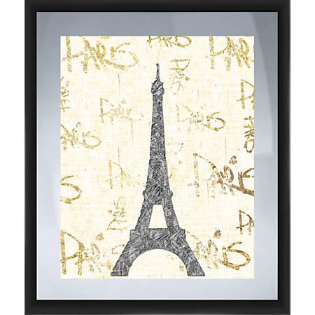 "PTM Images Framed Art, Paris, Gold, 26""H x 22""W"