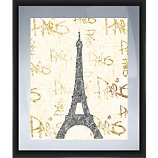PTM Images Framed Art Paris Gold