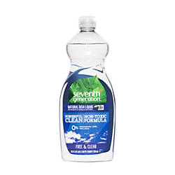 Seventh Generation Natural Dish Liquid 25