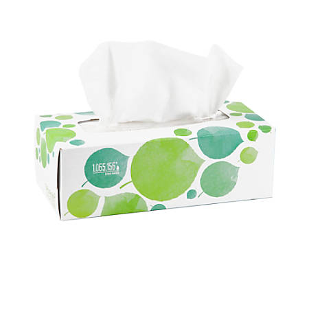 Seventh Generation™ 2-Ply Facial Tissues, 100% Recycled, 175 Tissues Per Box