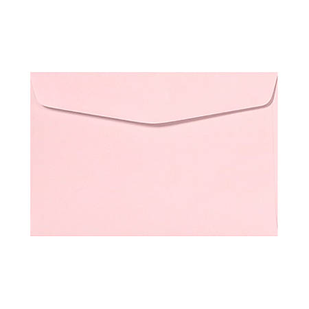 "LUX Booklet Envelopes With Moisture Closure, 6"" x 9"", Candy Pink, Pack Of 500"