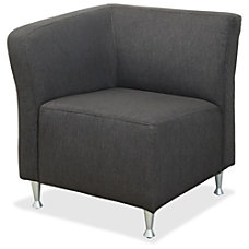 Lorell Fuze Right End Lounger Chair