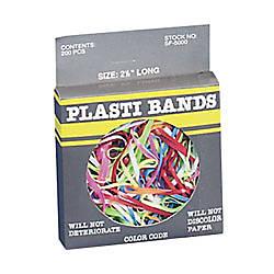 Baumgartens Plastibands 2 14 Assorted Colors
