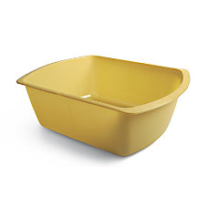 Medline Rectangular Plastic Washbasins 6 Qt