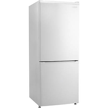 Danby DFF092C1WDB Refrigerator/Freezer - 9.20 ft³ - No-frost - Reversible - 9.20 ft³ Net Refrigerator Capacity - 374 kWh per Year - White - Smooth - LED Light